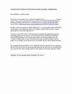 Journal article submission cover letter the letter sample for Cover letter for submitting paper to journal