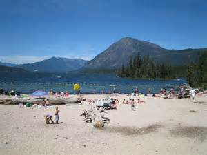 Lake Wenatchee Beach