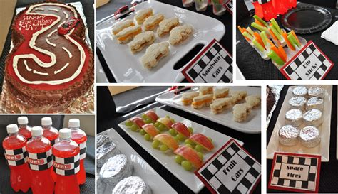 cuisine cing car pin indy 500 race car birthday birthday cake