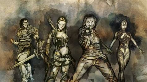 dungeon siege 3 best character take a gander at dungeon siege iii 39 s four characters