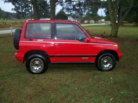 sidekick jeep 1992 geo tracker 4x4 sidekick suv jeep top towing