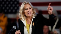Jill Biden: Voters 'disgusted' Trump enlisted foreign help ...