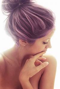 purple hair with lavender highlights | purple with ...