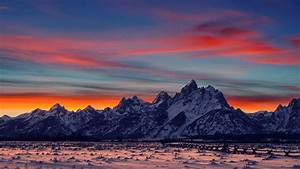 mountain sunset and sunrises | Majestic mountains ...