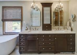 custom bathroom vanity designs walnut vanity transitional bathroom lugbill designs