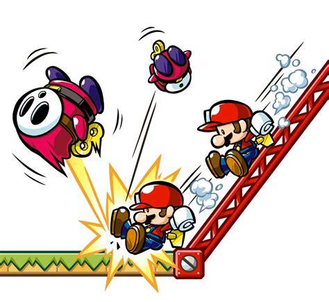Mario Vs Donkey Kong Mini Land Mayhem Ds Artwork