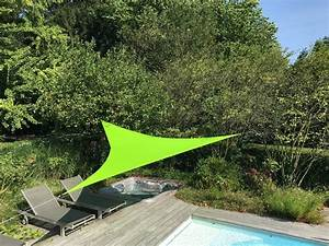 voile d39ombrage triangulaire marie claire maison With voile d ombrage jardin