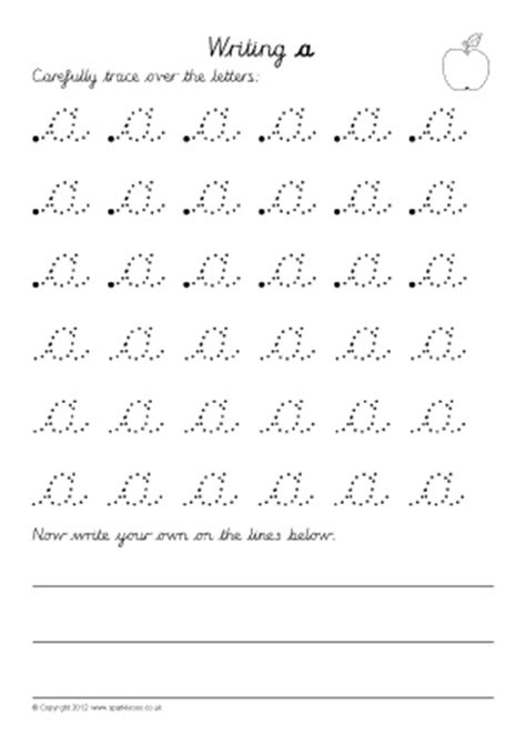 letter formation worksheets  early years sparklebox