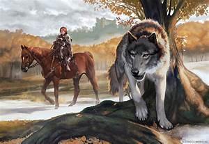 Bran Stark and Summer by Smirtouille on DeviantArt
