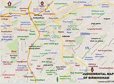 Map of Birmingham neighborhoodssuburbs? Birmingham