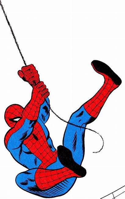 Spiderman Comic Clip Clipart Cliparts Aw