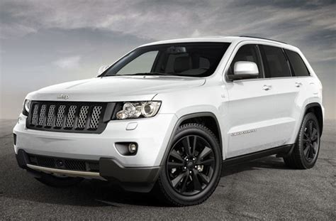 white jeep grand cherokee wheels jeep bringing pair of black and white quot production intent