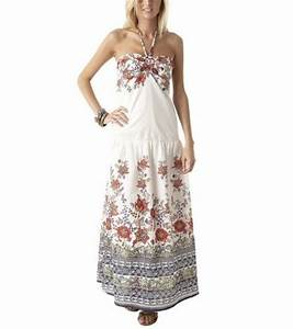 photo robe longue dos nu imprimee promod 3995 With robe longue promod 2017