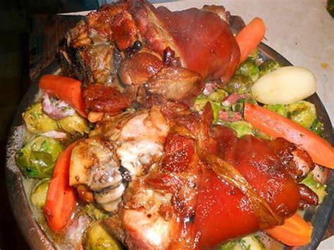 cuisine jarret de porc recette de jarret de porc confit a la bière