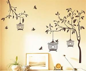 tree and bird wall stickers peenmediacom With stickers for walls
