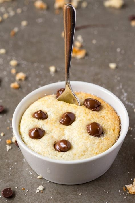 healthy  minute  carb vanilla mug cake