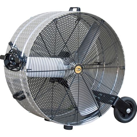 tractor supply shop fans j d sales brite floor drum fan 30in 1 2 hp