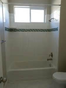 Tiled Bathtub Shower Combo