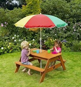 Table De Jardin Enfant : salon de jardin enfant en 18 propositions tendance ~ Teatrodelosmanantiales.com Idées de Décoration