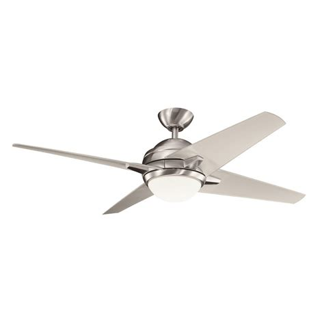 decorative fans 300133bss rivetta 52 quot contemporary ceiling