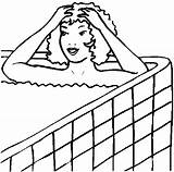 Bathing Bathroom Coloring Pages sketch template