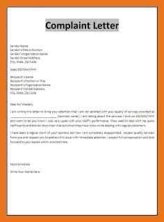 letter  complaint  school moutemplate