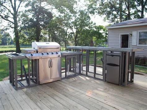 Diy Kitchen Island Ideas - outdoor kitchen plans outdoor fireplace and kitchen plans youtube