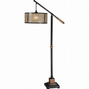 sitka solid wood one light floor lamp uttermost shaded With unfinished wood floor lamp