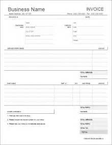 Shop Invoice Template by Auto Repair Invoice Template For Excel