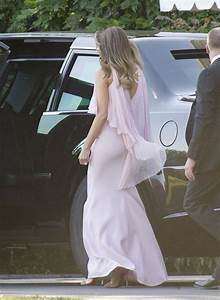 melania trumps fashion for mnuchin wedding billowed in With louise linton wedding dress