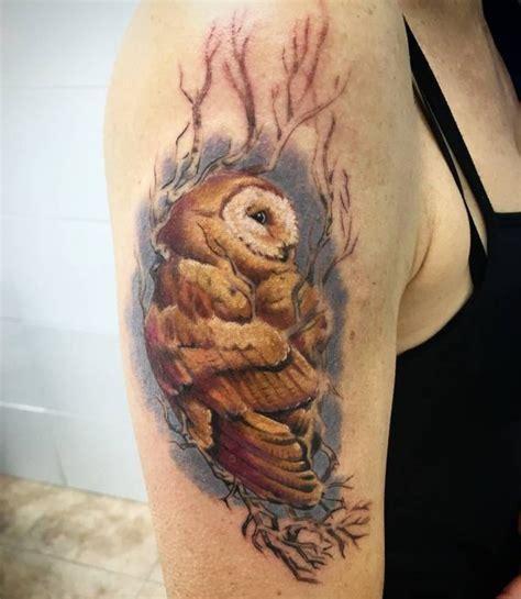 eulen tattoos es ist ein symbol der weisheit