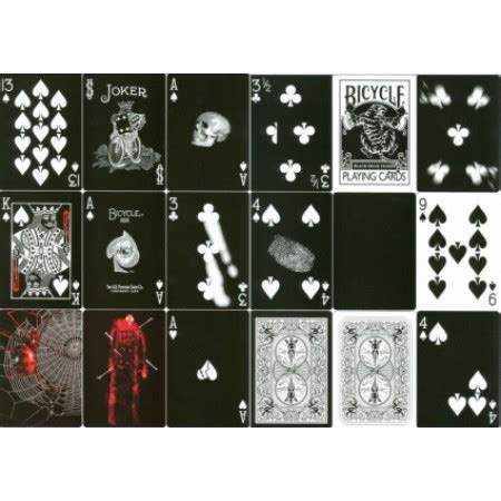 Bicycle Invisible Deck Trick Revealed by Black Tiger Gaff Deck Tricks Images