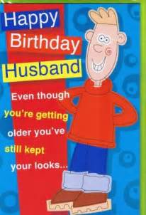 Funny Happy Birthday Husband Quotes