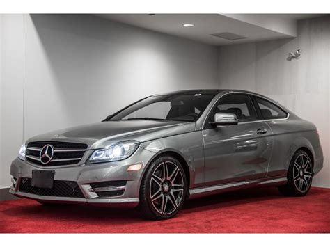 pre owned  mercedes benz  class  matic coupe