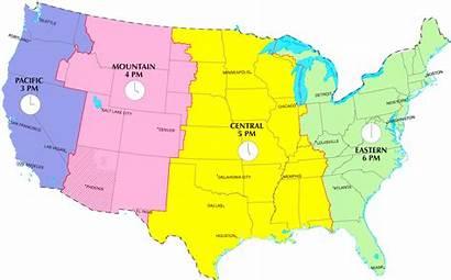 Map Zones Usa Timezones Zone Current Printable