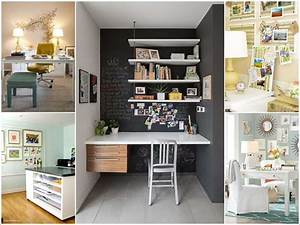 Awesome ideas to decorate your home office wall