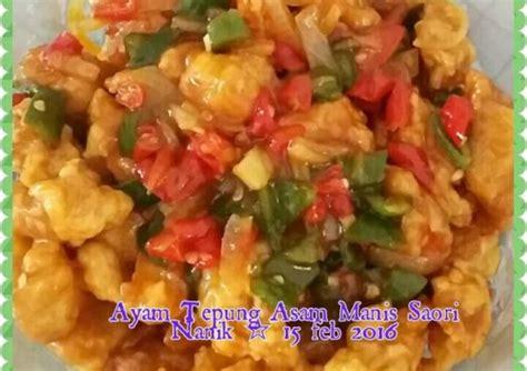Resep ayam kuluyuk asam manis (ayam koloke) baking dan via www.tokowahab.com. Resep Ayam Tepung Asam Manis Saori