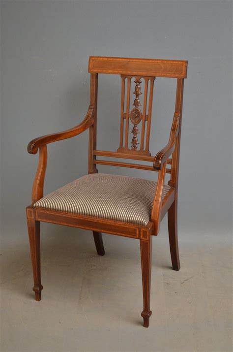 mahogany dining chairs for set of 6 edwardian mahogany dining chairs antiques atlas 9106
