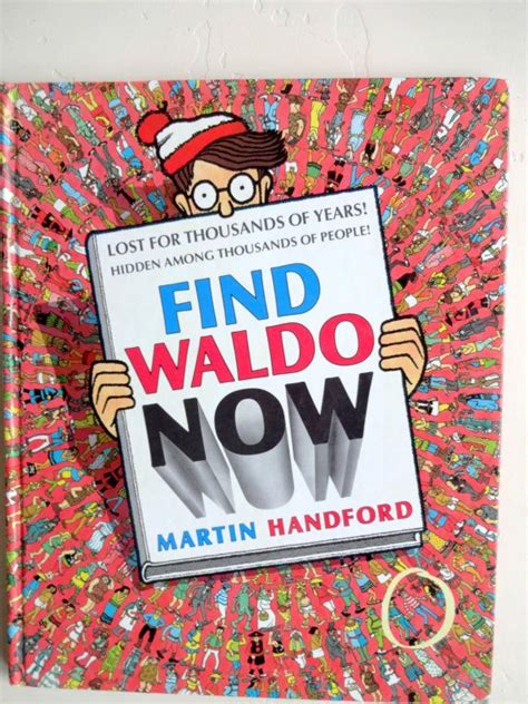 Vintage Find Waldo Now Book by Martin Handford 1988 | Etsy ...