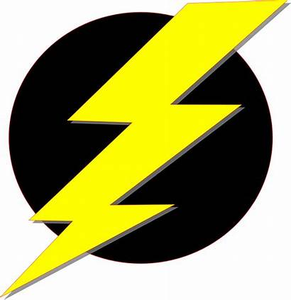 Clipart Yellow Lightning Storm Electricity Flash Conservation