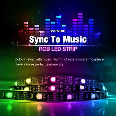 Sync Lights by Wenice Led Lights Sync Usb Powered Light