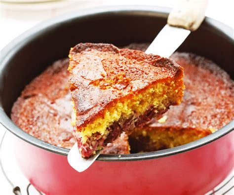 recette de cuisine de cyril lignac cake aux cerises et au miel recette de dessert de cyril