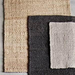 tapis descente de lit en jute et chanvre 60x90 cm tine k With tapis en chanvre naturel