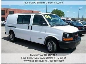 2004 Gmc Savana Cargo Van Cars For Sale