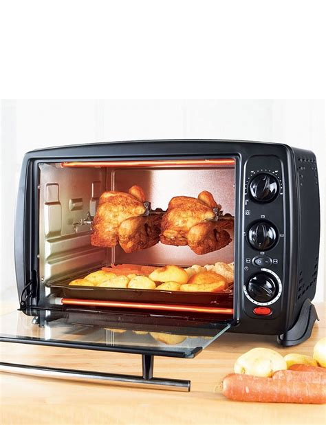 complete bathroom accessories compact rotisserie oven home kitchen dining