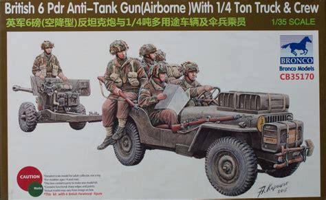 Bronco Models 35170 135 British 6 Pdr Antitank Gun