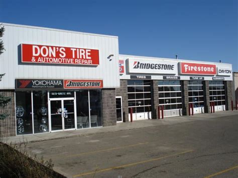 Don's Tire & Automotive Repair Ltd  Red Deer, Ab Tires