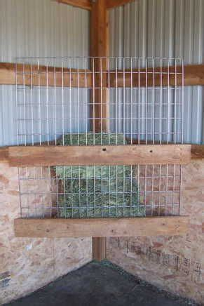 feeders for stalls simple diy hay feeder for stall place at