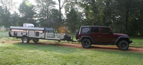 jeep pop up tent trailer jeep and pop up cer