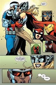 thor foster and captain america falcon comics